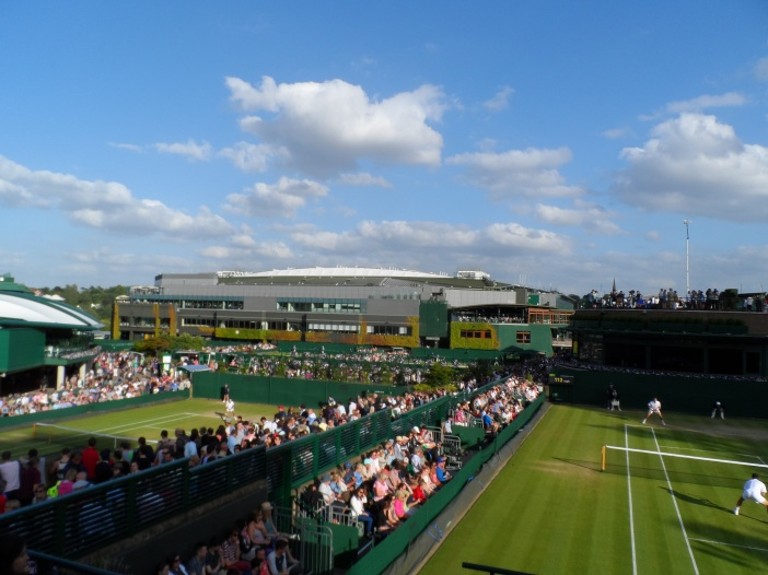 View from Court 18