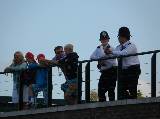 Bobbies on the Wimbledon beat
