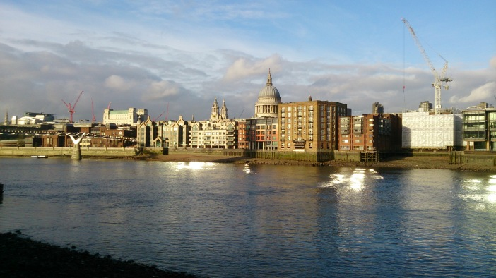 Thames in sunshine
